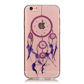 indietro Trasparente Other TPU Morbido Transparent Copertura di caso per Apple iPhone 6s Plus\/6 Plus \/ iPhone 6s\/6 \/ iPhone SE\/5s\/5