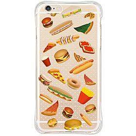 Per Custodia iPhone 6 \/ Custodia iPhone 6 Plus Fantasia\/disegno Custodia Custodia posteriore Custodia Vignette Morbido TPU AppleiPhone 6s