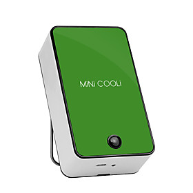 Mini Cool Fan Air Conditioner Appliances Batteries/USB Powered Portable Hand-held No Leaf Fan 3717309