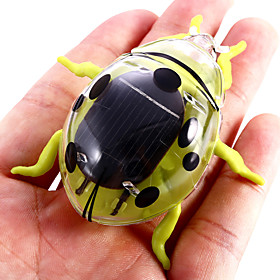 Solar Powered Beetle Novelty Vibrating Toy Teaching Aid for Children 5070434