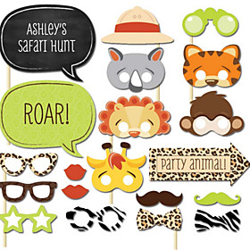 Hard Card Paper Wedding Decorations-20Piece/Set Unique Wedding Décor / Photo Booth Props Party Animals 5122280