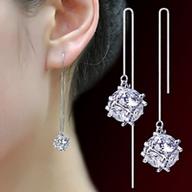 Women's Drop Earrings - Pearl, Imitation Pearl Fashion Silver For Party Daily