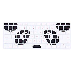 Panda Pattern Silicone Keyboard Cover Skin for Macbook Air 13.3/Macbook Pro 13.3 15.4,US version 5108902