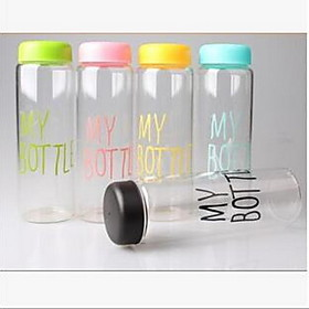 My Bottle Plastic Sport Fruit Juice Water Cup Portable 500ML Travel Bottle 5125471