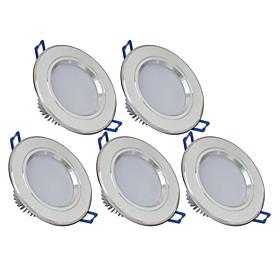 5Pcs Yangming3W 3000,6000K Warm White, Cool White LED Canister Light (85-265V) 5103982