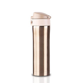 The New Stainless Steel Double Vacuum Insulation Cup Cup Jumping Lovers Mug Customized Gifts 5114334