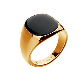 Men's Cat's Eye Ring Signet Ring 18K Gold Plated Punk Fashion Hip-Hop Street chic Ring Jewelry Silver / Golden For Christmas Gifts Party Daily Casual 8 / 9 / 1