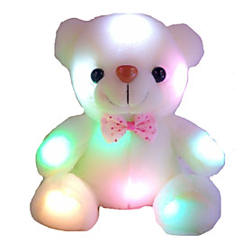 New Stuffed Animal Colorful Dazzling Lights Bear Doll Toys 2077692