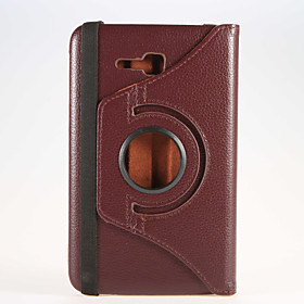 360 Degree Rotating PU Leather Cover Case with Stand Holder for iPad2/3/4 iPad Mini iPad Air for Samsung Tab 4 7.0 T230 Tab 4 10.1 T530 202358839