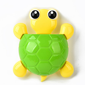 Cute Cartoon Turtle Shape Three Strong Suction Toothbrush Holder Suction Cup Toothbrush Holder Toothpaste 5056985