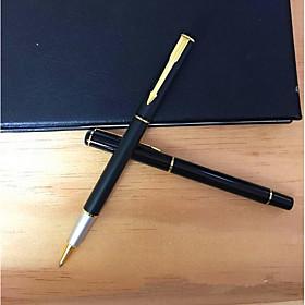Pen Pen Ballpoint Pens Pen, Plastic Black / Blue Ink Colors For School Supplies Office Supplies Pack of