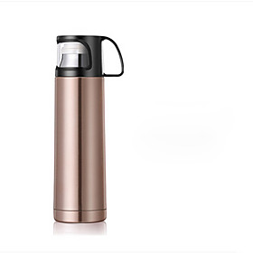 1Pc 500Ml Stainless Steel Vacuum Cup Portable Bottle Random Color 5099583