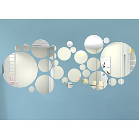 3D Wall Stickers Mirror Wall Stickers Decorative Wall Stickers, Vinyl Home Decoration Wall Decal Wall Decoration