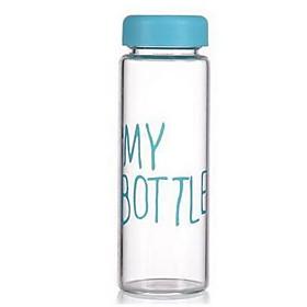Plastic Transparent Lemon Cup With Lid Handy Portable Leakproof Water Bottle 5221412