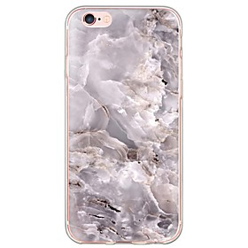 Per retro Ultrasottile \/ Traslucido Marmo TPU Morbido Copertura di caso per Apple iPhone 6s Plus\/6 Plus \/ iPhone 6s\/6 \/ iPhone SE\/5s\/5