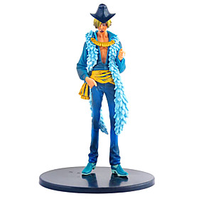 One Piece Set 15 Anniversary Dress Sanji Anime Action Figure Model Toy 4847621