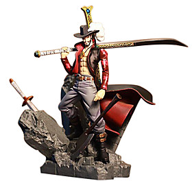 One Piece Dracula Mihawk PVC 15CM Figures Anime Action Jouets modèle Doll Toy 4890920