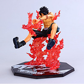 One Piece Zero Cross Fire Fighting Version of ACE Anime Action Figures Model Toy 4846272