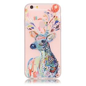 iphone 7 mais materiais TPU o novo padrão de veados aquarela caixa do telefone luminoso para iphone 6s 6 mais SE 5s 5 5141308