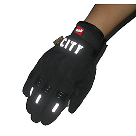 Riding Full Finger Touch Gloves Reflective Nontoxic Odorless Slip Resistant Breathable Waterproof 5169062