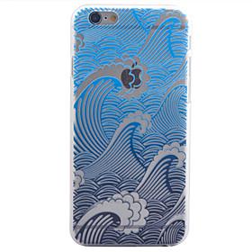 Per Custodia iPhone 6 \/ Custodia iPhone 6 Plus Transparente Custodia Custodia posteriore Custodia Paesaggi Resistente PC AppleiPhone 6s