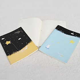 B5 Exquisite Soft Copy Paper Notebook Cartoon Car Line Notepad(Random Colors) 5155819
