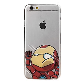 Case For iPhone 6s Plus iPhone 6 Plus iPhone 6s iPhone 6 iPhone 6 Plus iPhone 6 Transparent Back Cover Cartoon Hard PC for iPhone 6s Plus 2361706