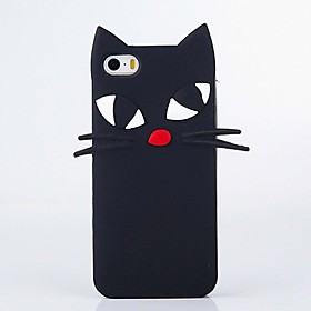 Per Resistente agli urti Custodia Integrale Custodia Gatto Morbido Silicone Apple iPhone 6s Plus\/6 Plus \/ iPhone 6s\/6 \/ iPhone SE\/5s\/5