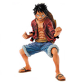 Anime Action Figures Inspired by One Piece Monkey D. Luffy PVC 18 CM Model Toys Doll Toy 4922421