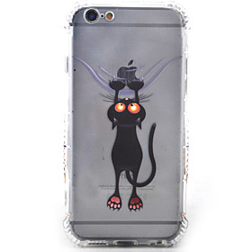 Per Custodia iPhone 6 \/ Custodia iPhone 6 Plus Resistente agli urti Custodia Custodia posteriore Custodia Gatto Morbido TPU AppleiPhone