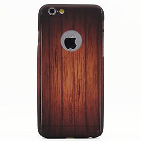 Per Custodia iPhone 6 \/ Custodia iPhone 6 Plus Other Custodia Integrale Custodia Simil-legno Resistente PC AppleiPhone 6s Plus\/6 Plus \/