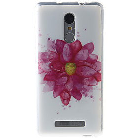 For Etui Mi Monster Etui Bakdeksel Etui Blomst Myk TPU Xiaomi Xiaomi Redmi Note 3