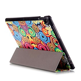 Image of 10.1 Inch Magnetic Buckle Pattern PU Leather Case with Sleep for Asus ZenPad 10(Z300C)(Assorted Colors)