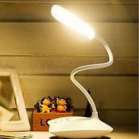 Rechargeable Dimming USB Fashion Desk Lamp Eye Protecting LED Work Lamp for Student's Learning 5194595