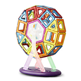 Toys Magnet Toys 64Pcs Executive Toys Puzzle Cube DIY Toys Magnetic Balls Rainbow Education Toys For Gift 5029627