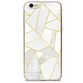 Per retro A fantasia Marmo TPU Morbido Copertura di caso per Apple iPhone 6s Plus\/6 Plus \/ iPhone 6s\/6 \/ iPhone SE\/5s\/5