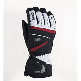 Skiing, Mountain Climbing, Motorcycle Riding Gloves, Outdoor To Resist The Cold, Keep Warm, A Pair 5187747