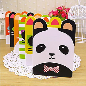 Small Cute Cartoon Animal Shaped Notebook (Random Colors) 5160244