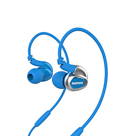 REMAX RM-S1 Headphone Sports Music Earphone High Sound Quality Stereo In-Ear Headset with Mic Retail Package 5205754