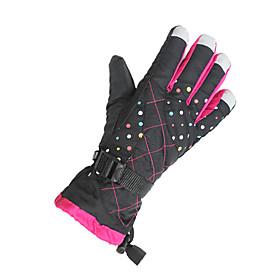 Ski Gloves Winter Gloves Women's / Unisex Activity/ Sports Gloves Keep Warm / Windproof Gloves Ski  Snowboard CanvasCycling Gloves / Ski 5204571