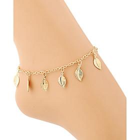 Lega / glod placcato estate spiaggia ragazza donne cavigliere sandalo a piedi nudi casuale / partito 1pc 5171914