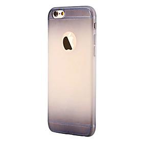 Per Custodia iPhone 6 \/ Custodia iPhone 6 Plus Effetto ghiaccio Custodia Custodia posteriore Custodia Colore graduale e sfumato Morbido