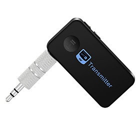 Bluetooth Transmitter Music Audio Stereo with 3.5mm Audio Output For Bluetooth Speakers or Headphones