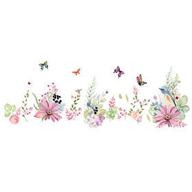 Animals Romance Florals Wall Stickers Plane Wall Stickers Decorative Wall Stickers, PVC Home Decoration Wall Decal Wall Glass/Bathroom