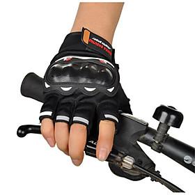 Motorcycle Racing Gloves Semi Finger Cross Country Summer Riding Motorcycle Semi Finger Rider Gloves 5214400