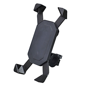 Phone Holder Stand Mount Bike / Motorcycle / Outdoor Handlebar Adjustable Stand Plastic for Mobile Phone 3757827