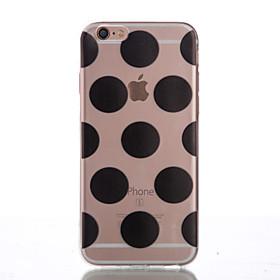 Per Custodia iPhone 6 \/ Custodia iPhone 6 Plus Other Custodia Custodia posteriore Custodia Geometrica Morbido TPU AppleiPhone 6s Plus\/6