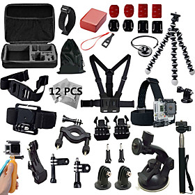 Gopro AccessoriesMount/Holder / Monopod / Tripod / Straps / Gopro Case/Bags / Screw / Buoy / Suction / Accessory Kit / Hand Grips/Finger 5150832