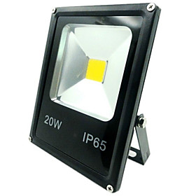 20W LED Flood Light 1500lm Outdoor Light IP65 Waterproof Warm Cool White Color Floodlight AC85-265V