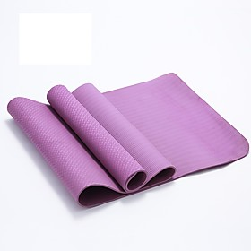 Yoga Mats Eco-friendly, Sticky, Non Toxic PVC(PolyVinyl Chloride) For Green, Blue, Pink
